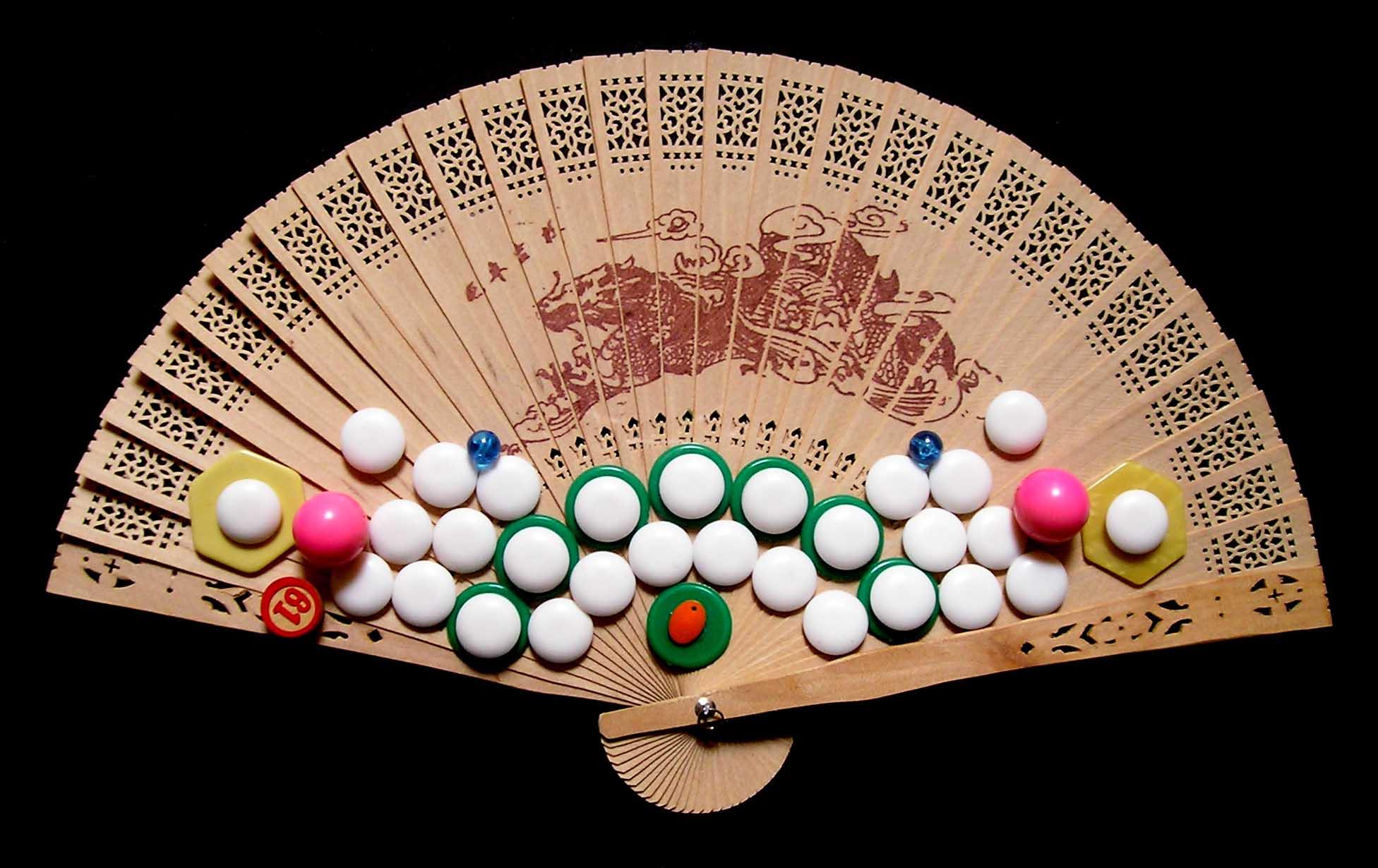Aires de Cambio XI, serie, objetos, ensamblados, 2003