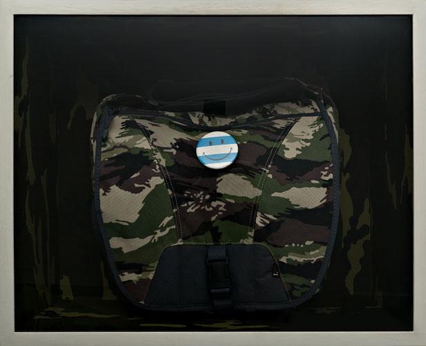 1982 Malvinas, homenaje, objetos ensamblados, 2006.