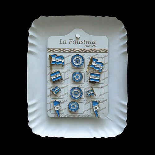 Diversidad argentina, objetos ensamblados,  20 x 17,5 x 3 cm, 2010.