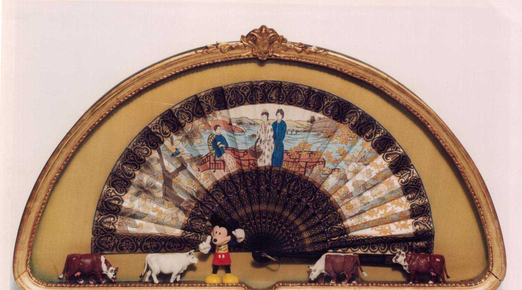 El mundo, un abanico de posibilidades, objetos ensamblados, 2002