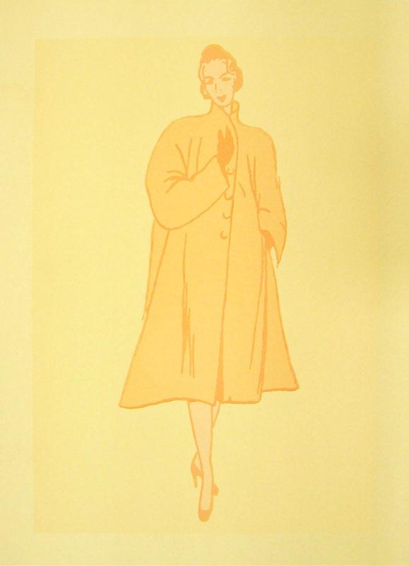 Ella, serigrafía, 55 x 32 cm, 2000.