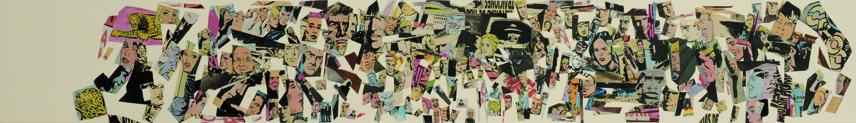 La vida siempre sonríe, serie, 13,5 x 101 cm. 2008 (15)