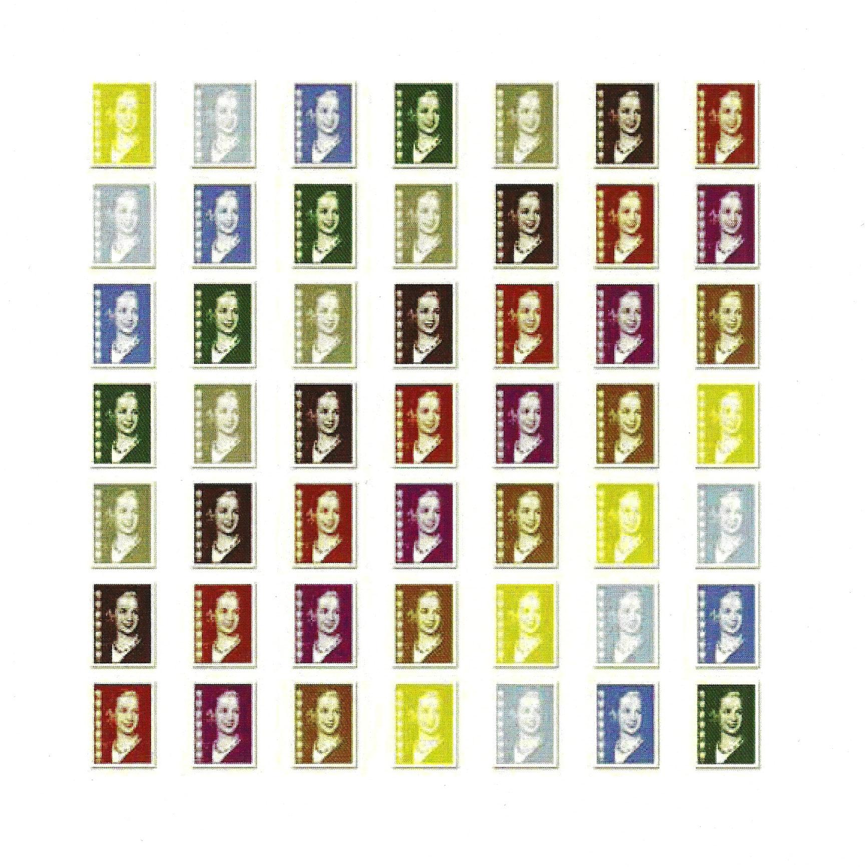 Evita, Serie, Serigrafía, 2012