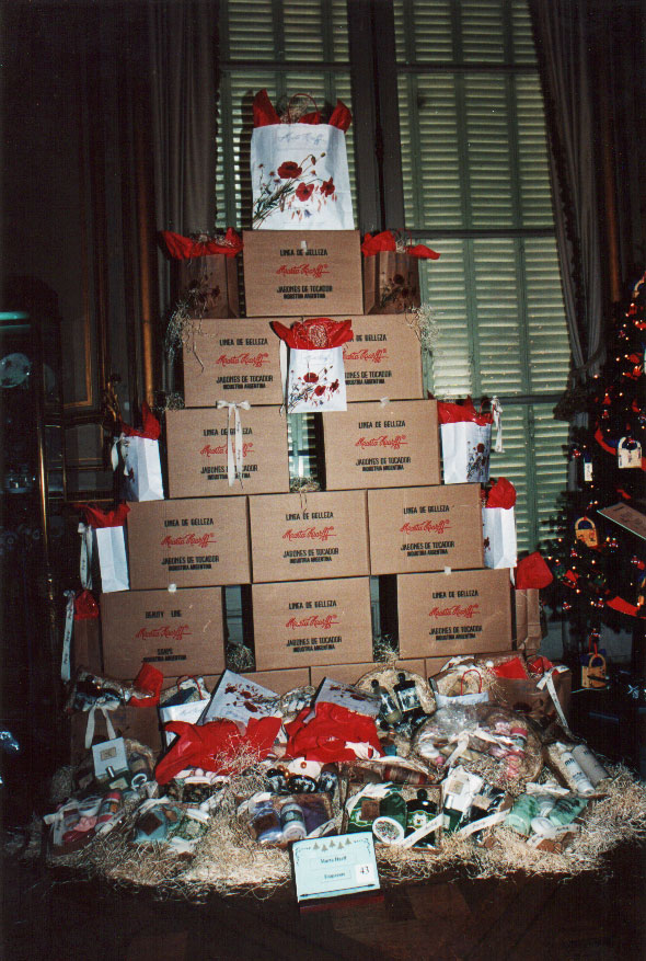 Árbol de Navidad Marta Harff, 2005