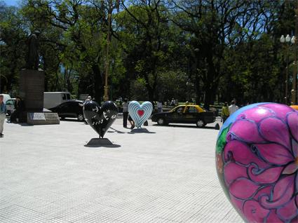 Corazón - Fundación Favaloro 2006 - Plaza San Martín