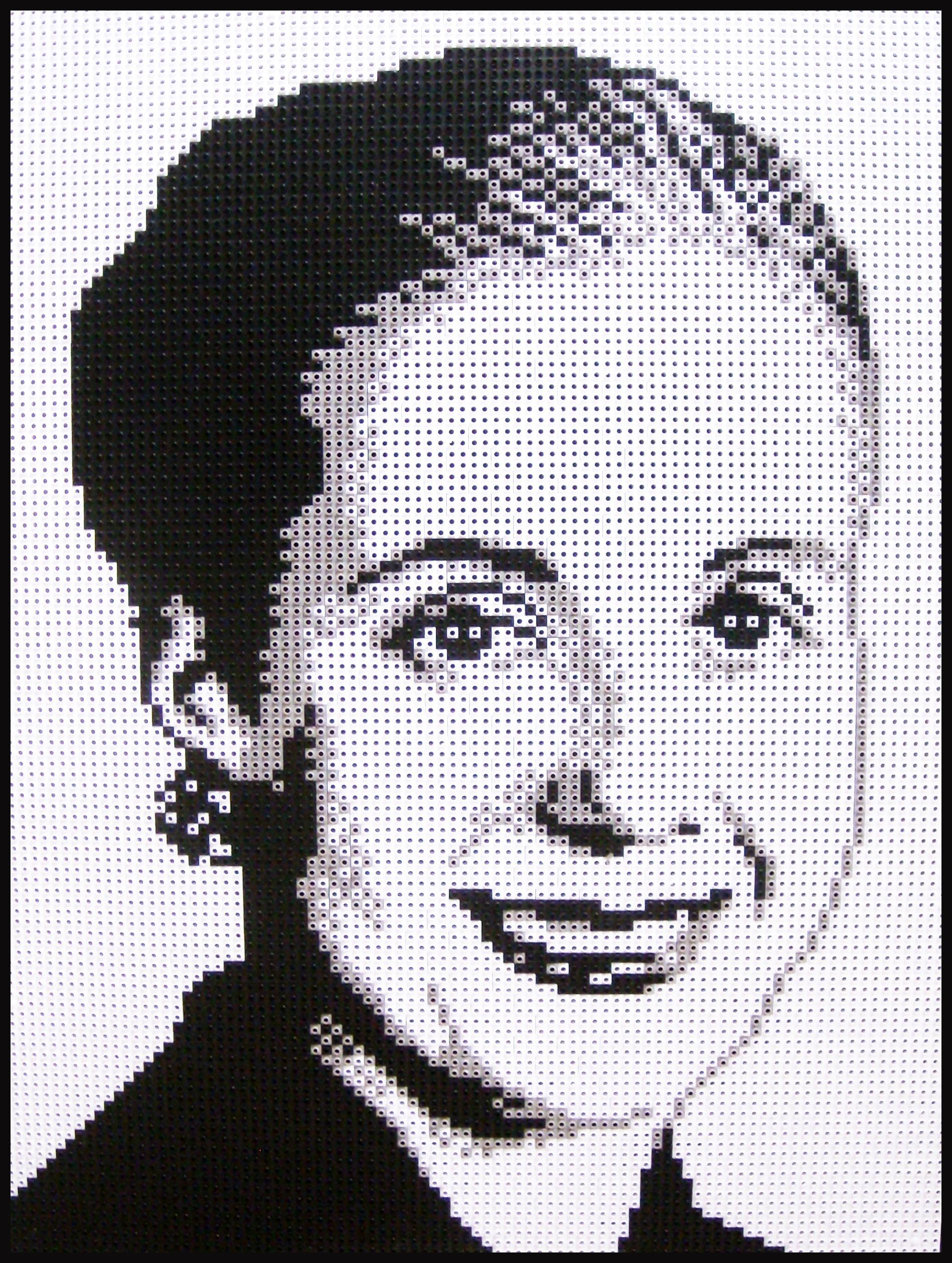 Eva, ensamblaje de piezas Rasti, 100 x 70 cm, 2013