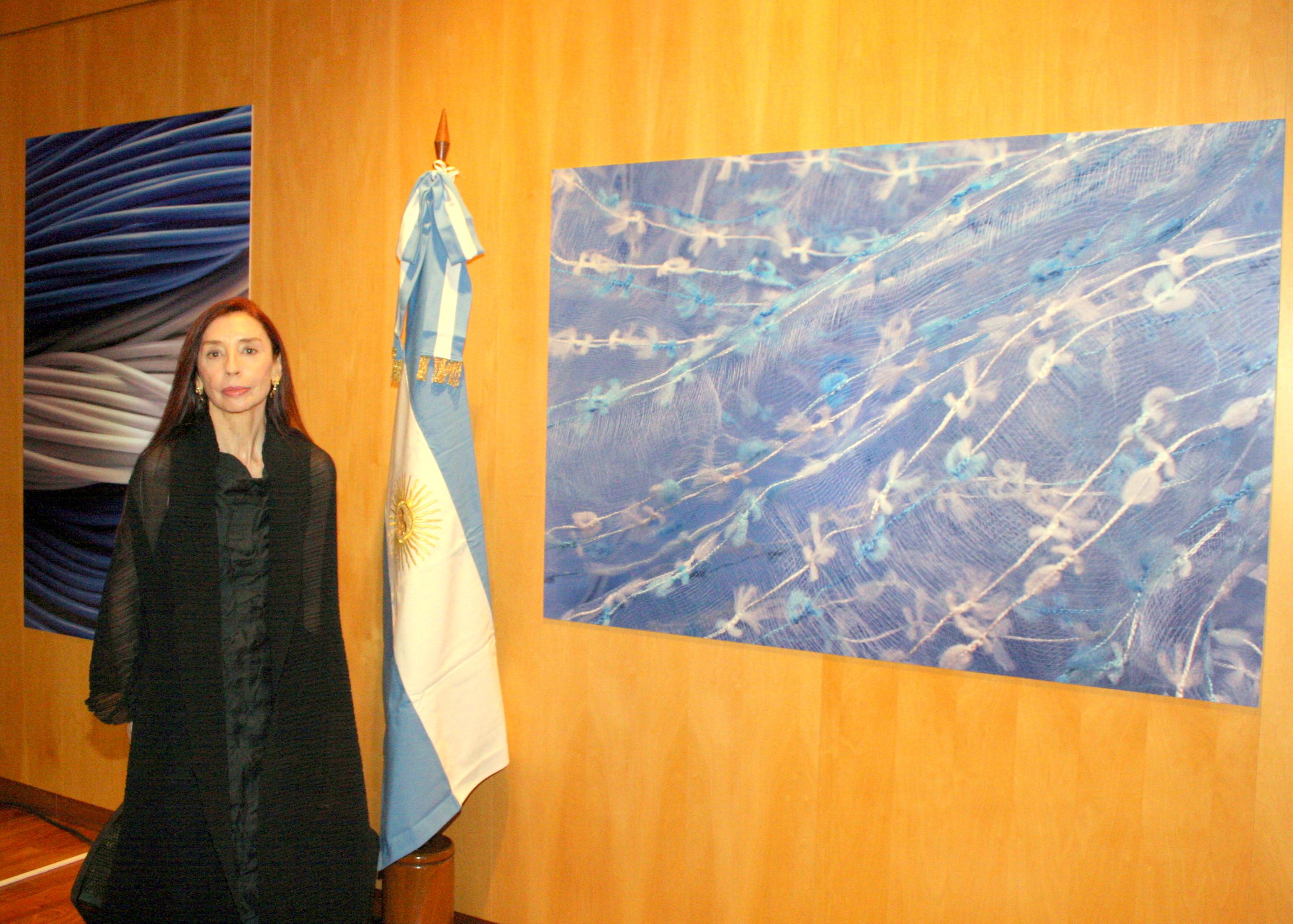 CELESTE Y BLANCO (LA PATRIA ENCONTRADA) - Brasilia 2012