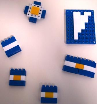 Souvenirs varios, ensamblaje de piezas Rasti,  2010