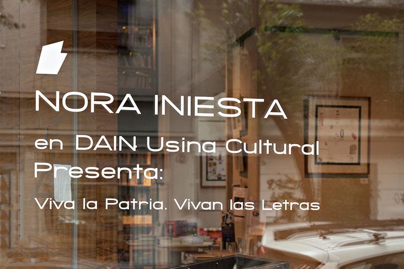 Viva la Patria. Vivan las letras. Dain Usina Cultural, Buenos Aires, 2016
