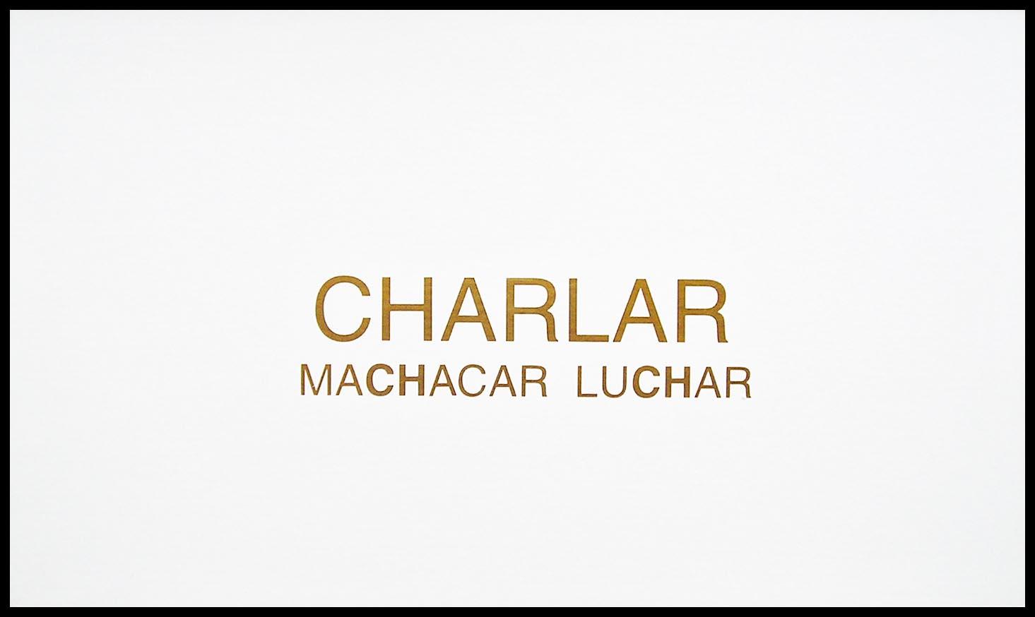 Abecedario, CH; papel collage, 29 cm x 49 cm, 2003