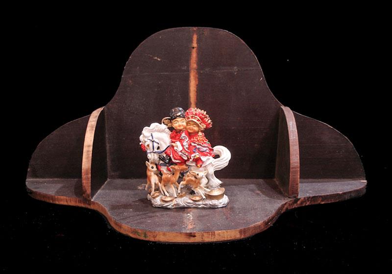 China, instalación, 27 cm x 60 cm x 30 cm, 2006