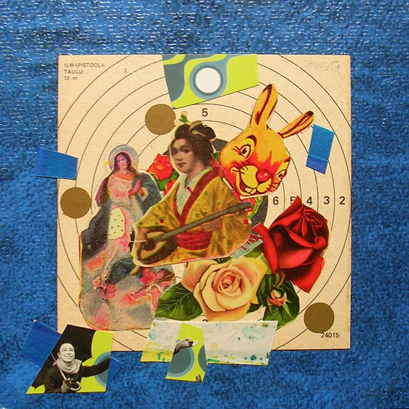 Cotidianeidad, papel collage 20 cm x 20 cm 1989-2006 (11)