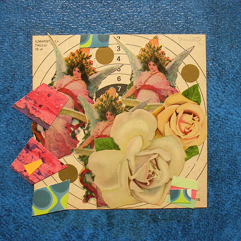 Cotidianeidad, papel collage 20 cm x 20 cm 1989-2006 (17)