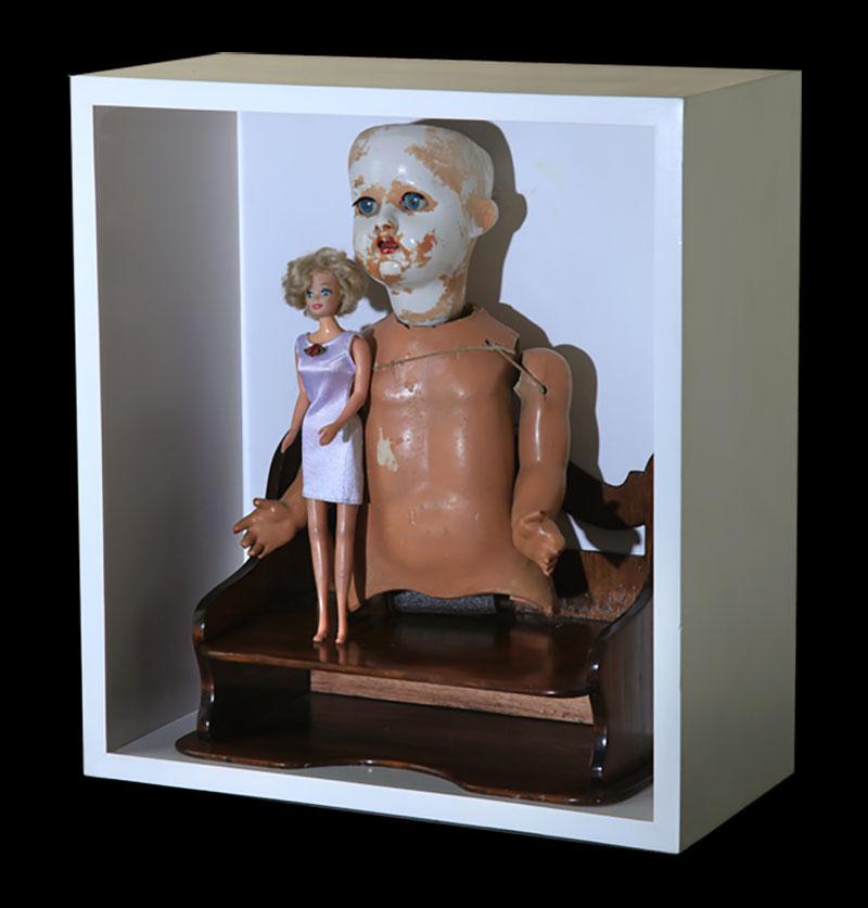 Los Miedos, 48 cm x 43 cm x 23 cm, 2005