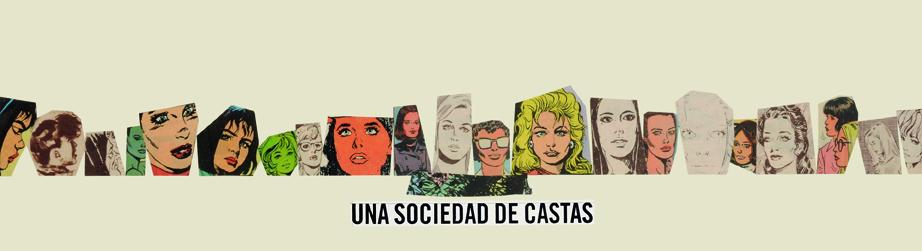 Una sociedad de castas, papel collage, 13,5 cm  x 50 cm. 2008