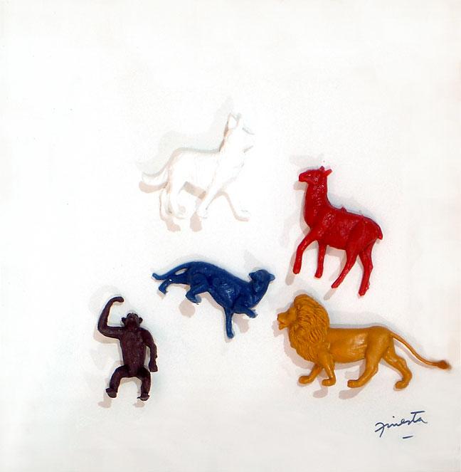 Animales II, 21,5 cm x 21,5 cm, 2002