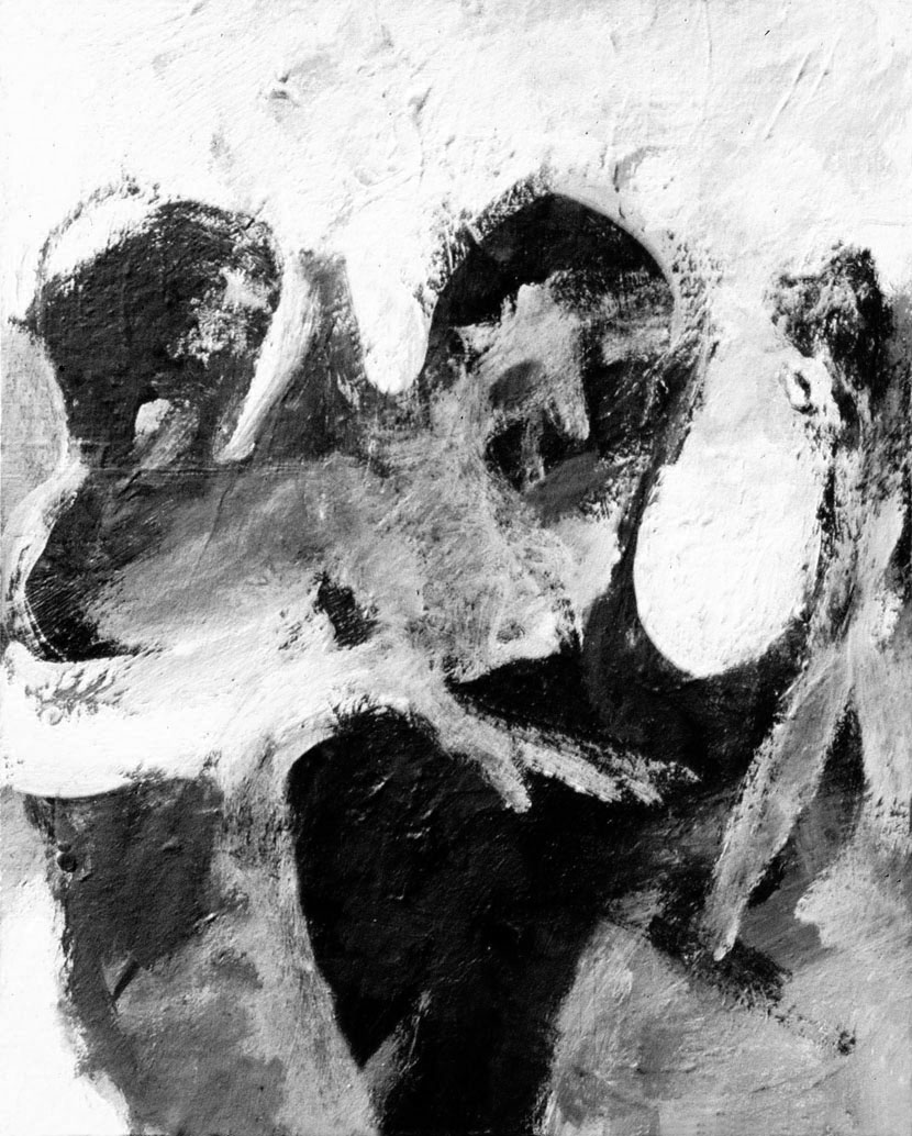 Los Otros,  acrílico sobre hardboard, 24 cm x 30 cm, 1971-1972