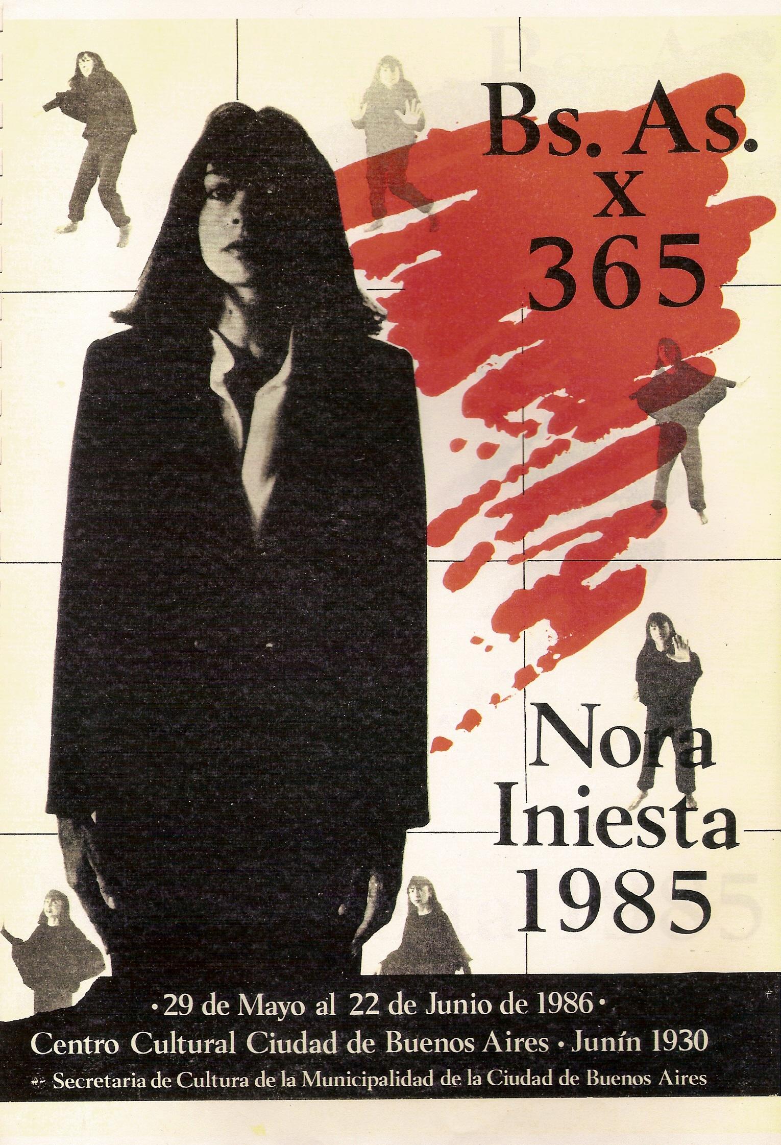 Buenos Aires x 365 por Nora Iniesta 1985