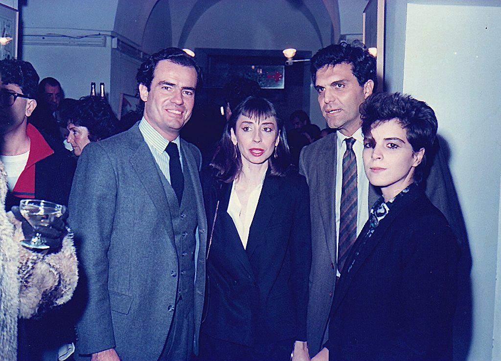 1986 Inauguracion 365 en el Centro Cultural Recoleta