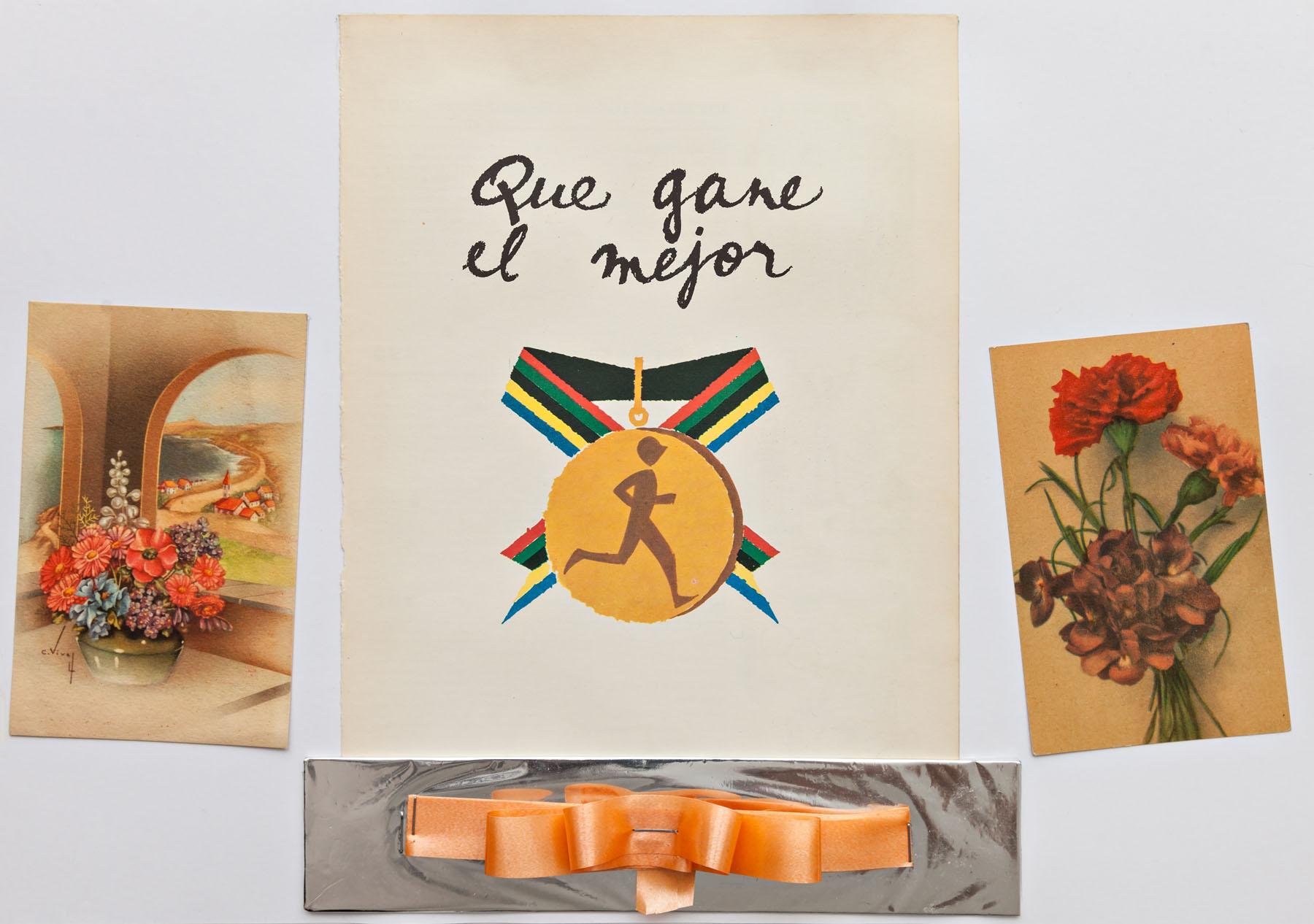 Serie Cuarentena, papel collage, 29,5 cm x 42 cm, 2020