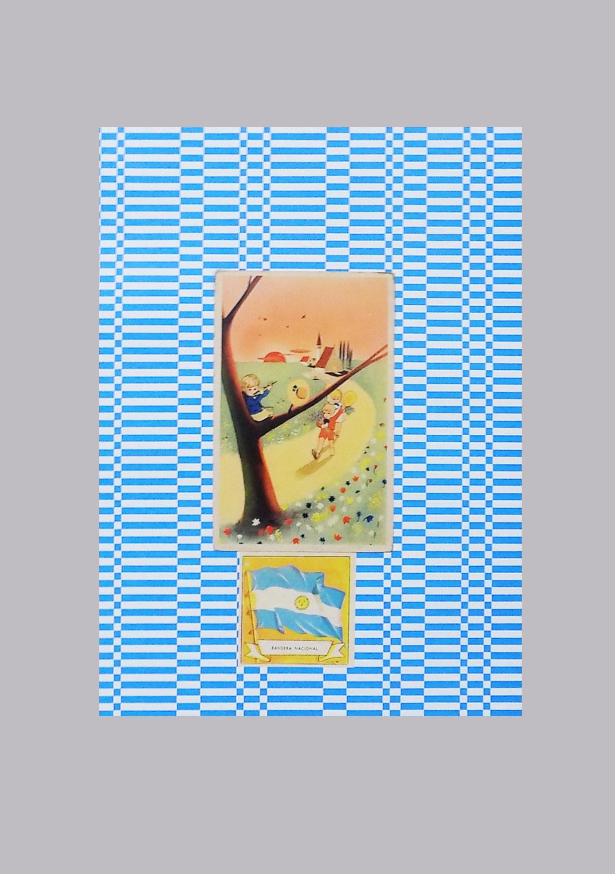 Serie collage año belgraniano, 30 cm x 22 cm, 2020