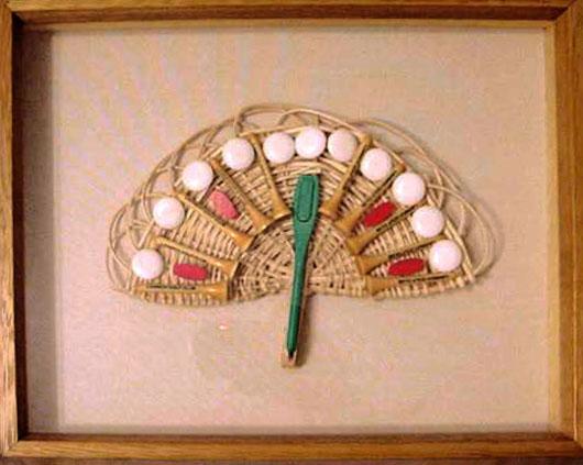 Golf III, objetos, ensamblados, 2004
