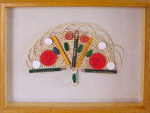 Golf II, objetos, ensamblados, 2004