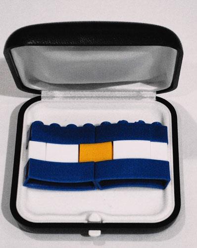Bandera, piezas Rasti, 2010.