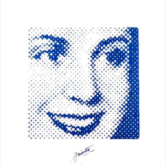Evita, Serie. Serigrafía sobre papel, 20 cm x 20 cm. 2012