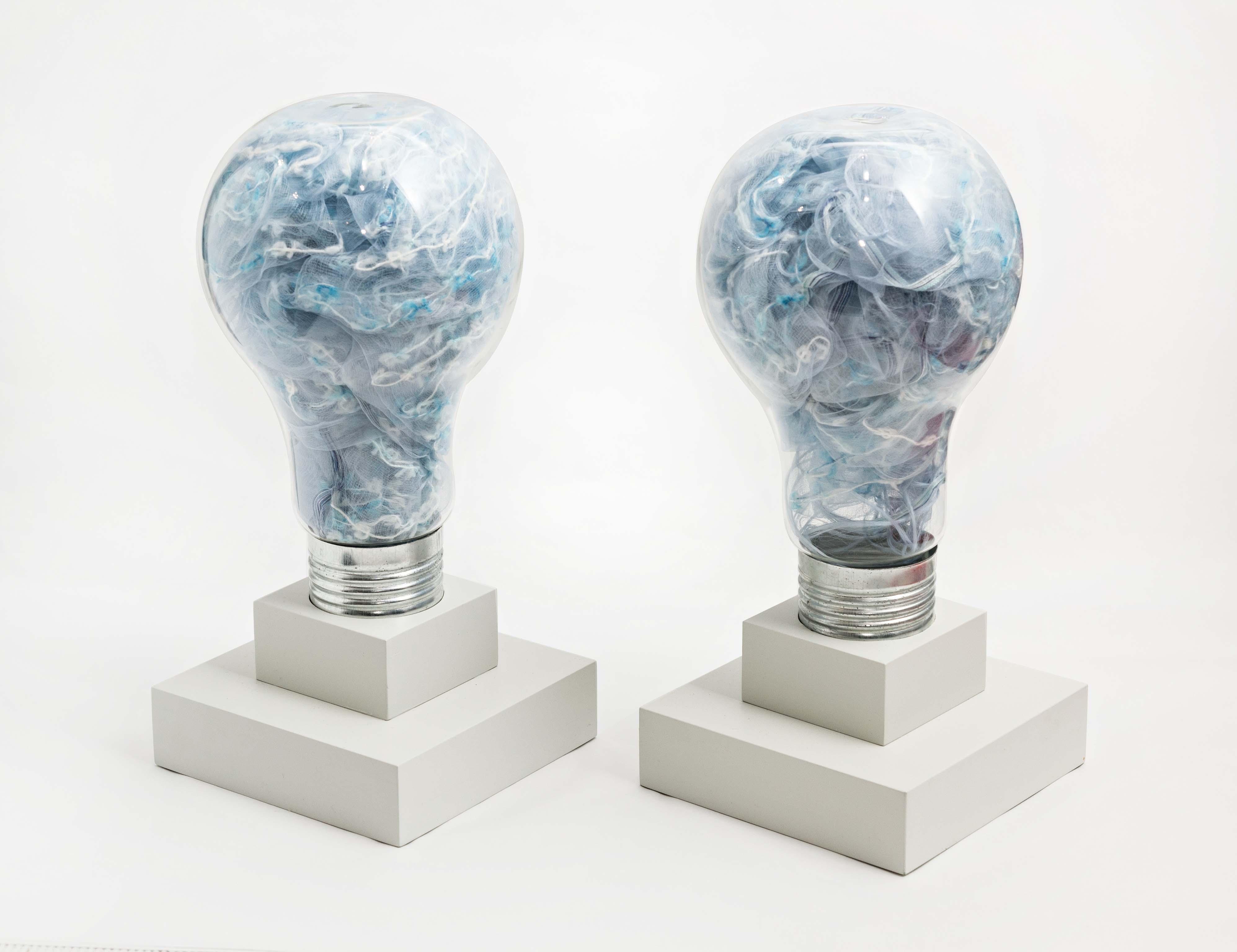 Ideas Argentinas,  objetos ensamblados, 32 x 15 x 15cm, 2012