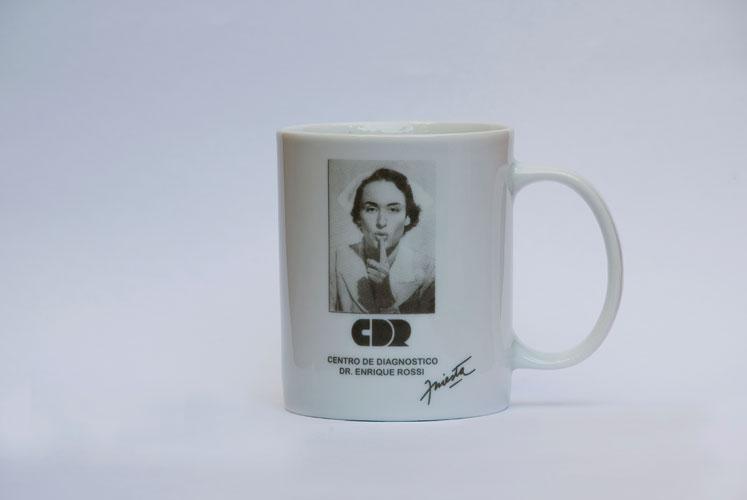 Taza de porcelana CDR 2009