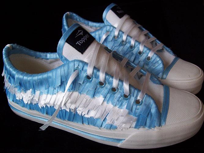 Zapatillas patrias - Topper, cintas ensambladas, 2010
