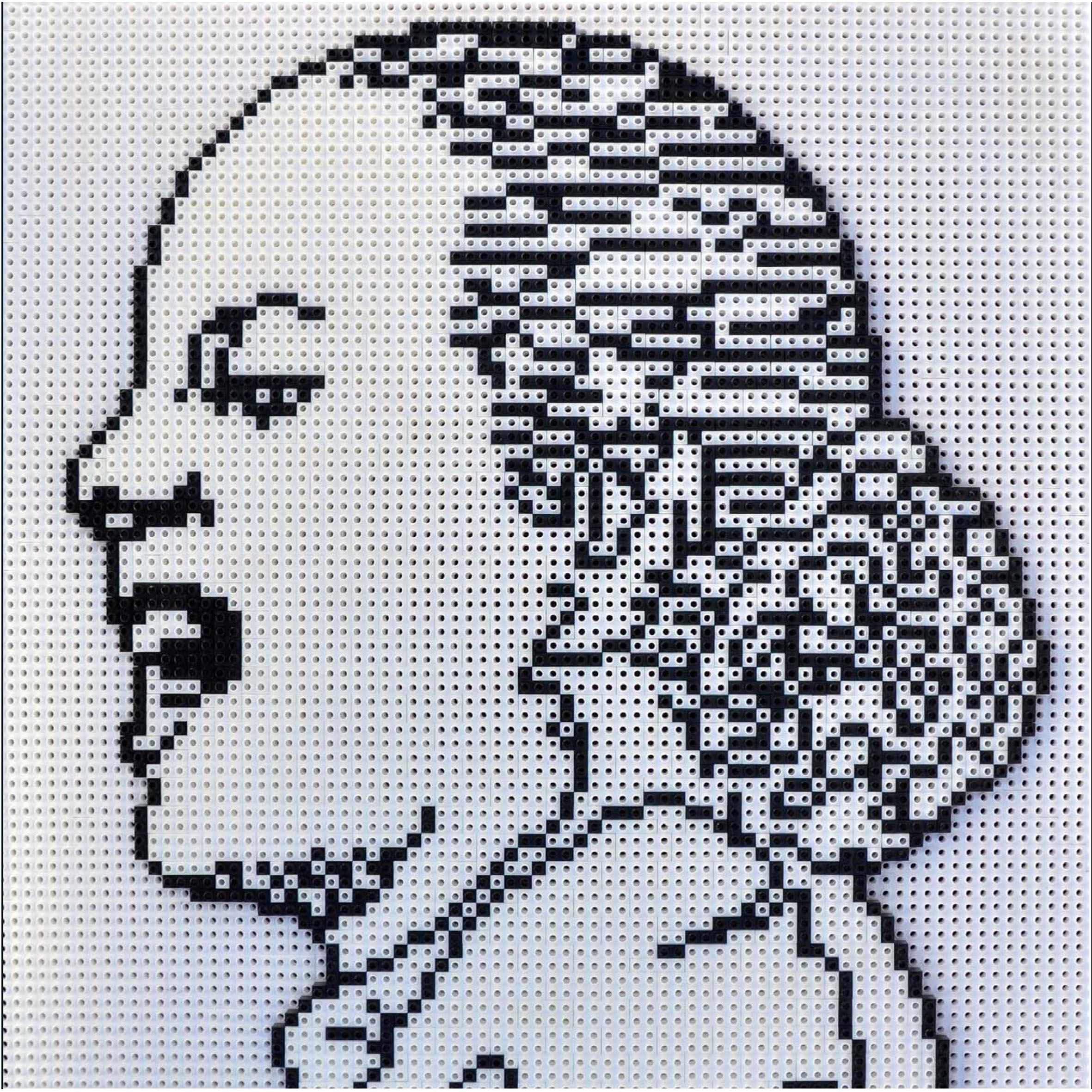 Evita Eterna, ensamblaje de piezas Rasti. Serie Ideas Argentinas. 2012