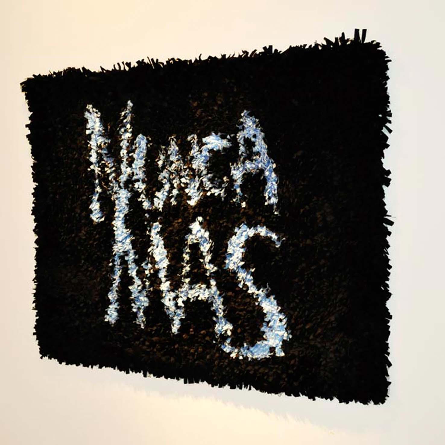 Nunca Más, cintas ensambladas, 1mt x 0.60 - 2011