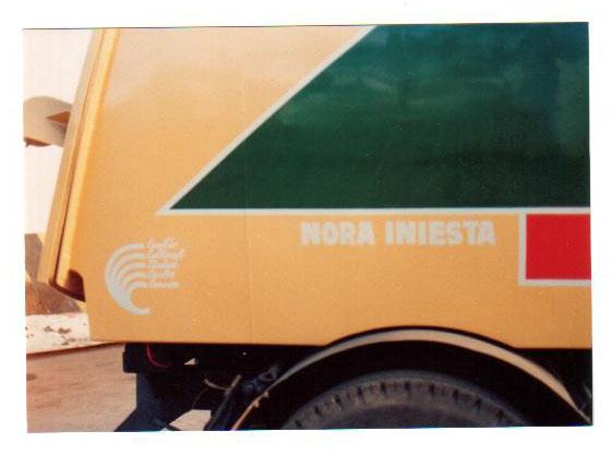 El camión recolector, detalle, Carlos Casares 1989