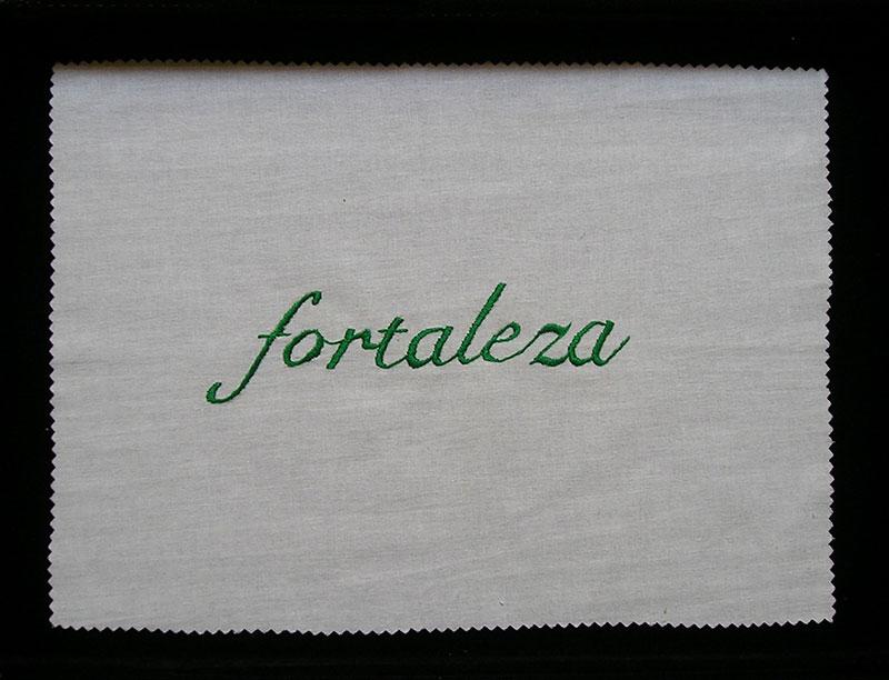 Fortaleza, serie Las siete virtudes, 2001