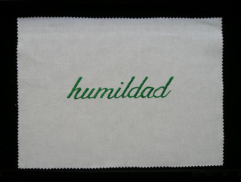 Humildad,serie Las siete virtudes, 2001