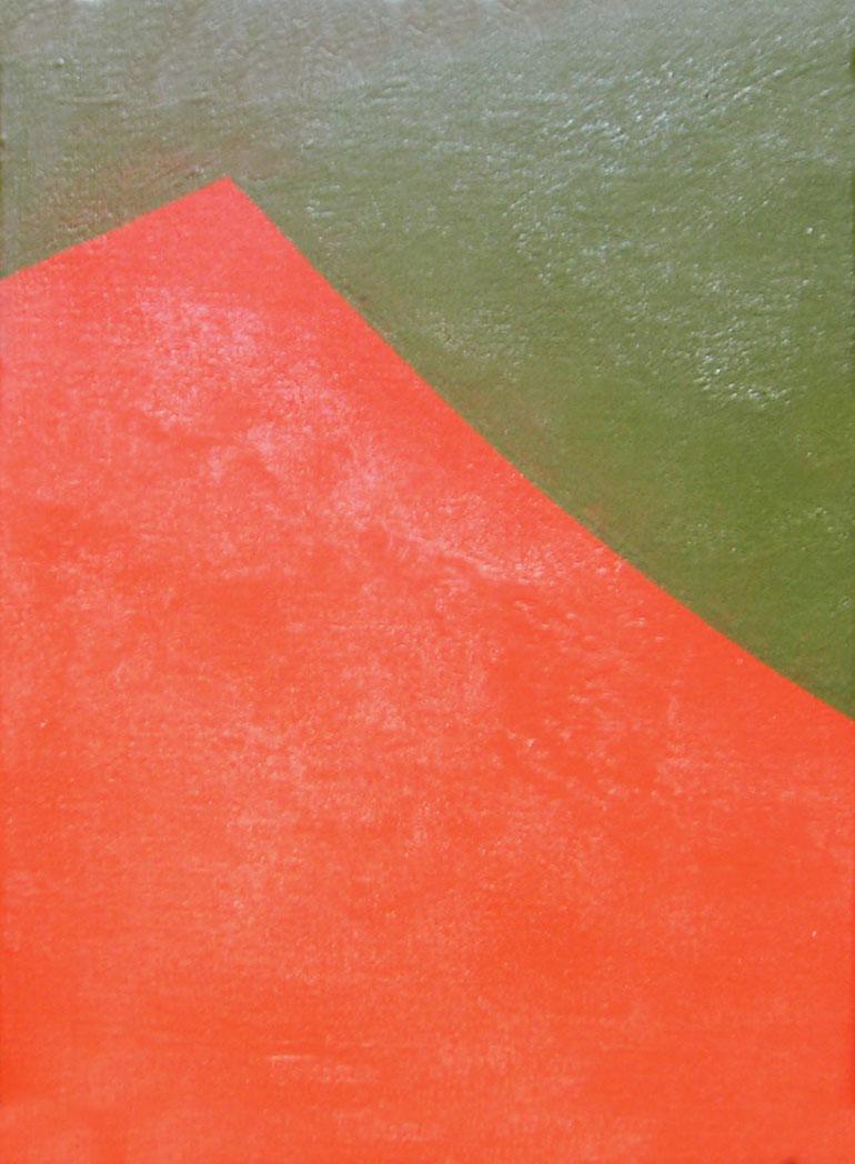 Paisajes, acrílico sobre tela,18 cm x 24 cm,1984