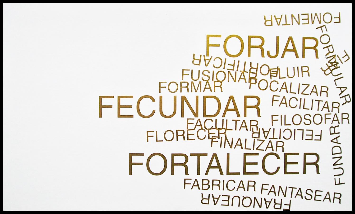 Abecedario, F; papel collage, 29 cm x 49 cm, 2003
