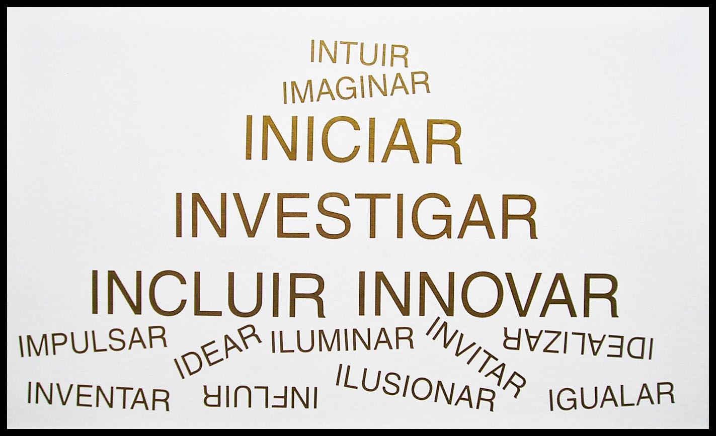 Abecedario, I; papel collage, 29 cm x 49 cm, 2003