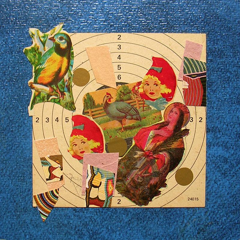 Cotidianeidad, papel collage 20 cm x 20 cm 1989-2006 (15)