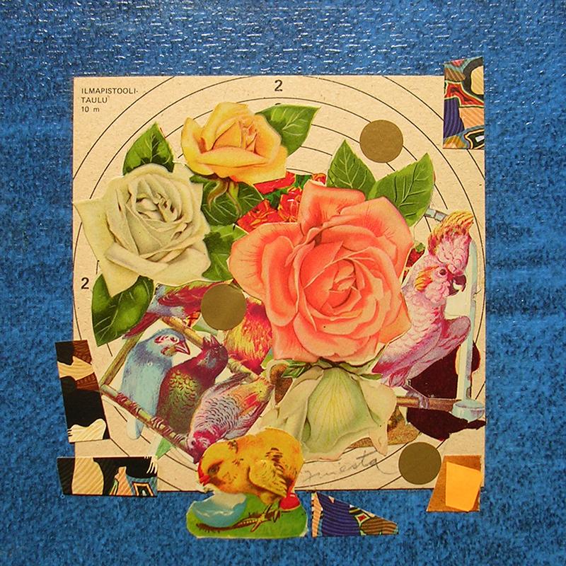 Cotidianeidad, papel collage 20 cm x 20 cm 1989-2006 (18)