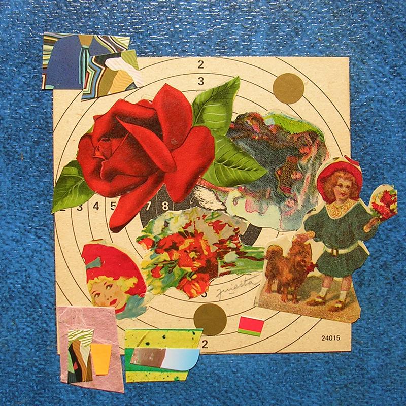 Cotidianeidad, papel collage 20 cm x 20 cm 1989-2006 (21)