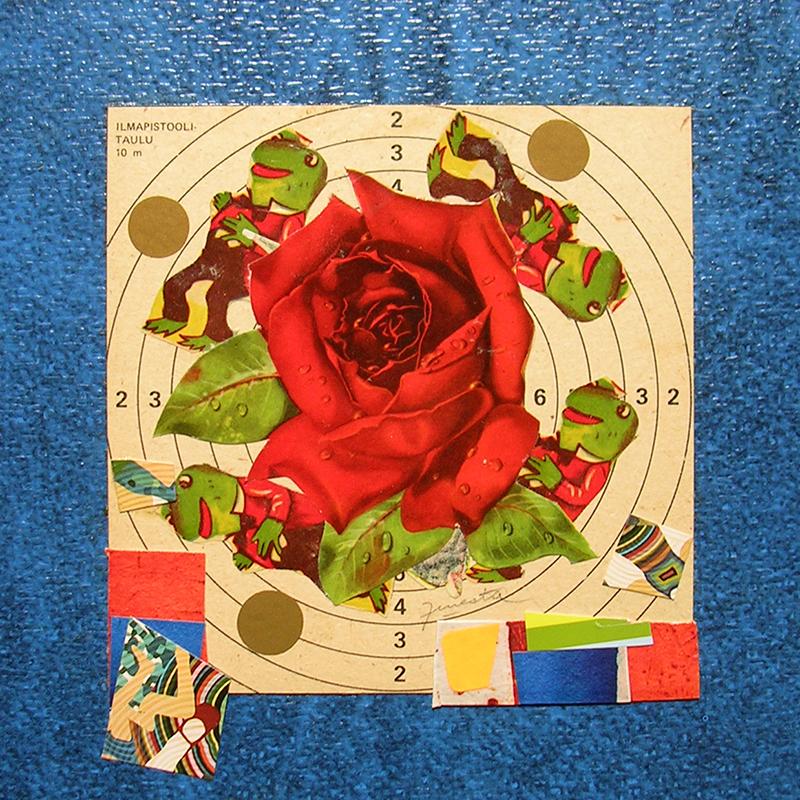 Cotidianeidad, papel collage 20 cm x 20 cm 1989-2006  (24)