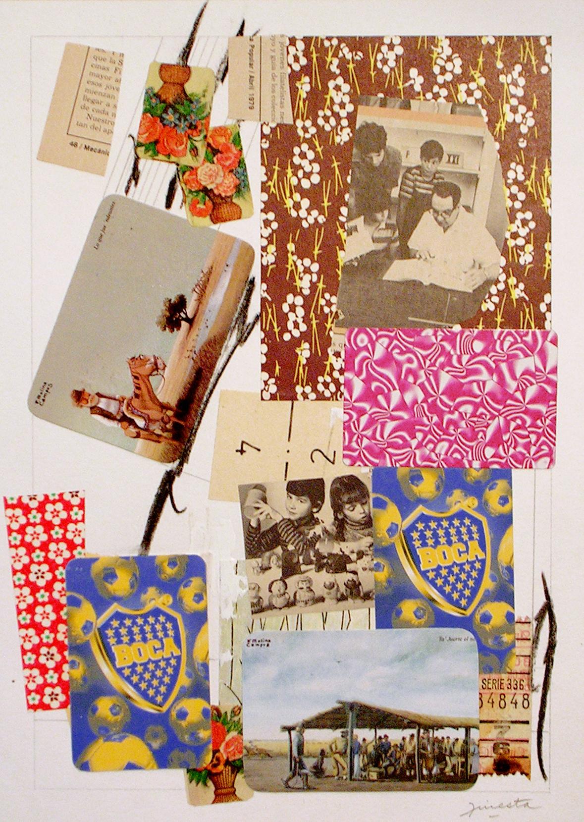 Ejercicios Cotidianos, Collage 34x24cm 2006 (1)