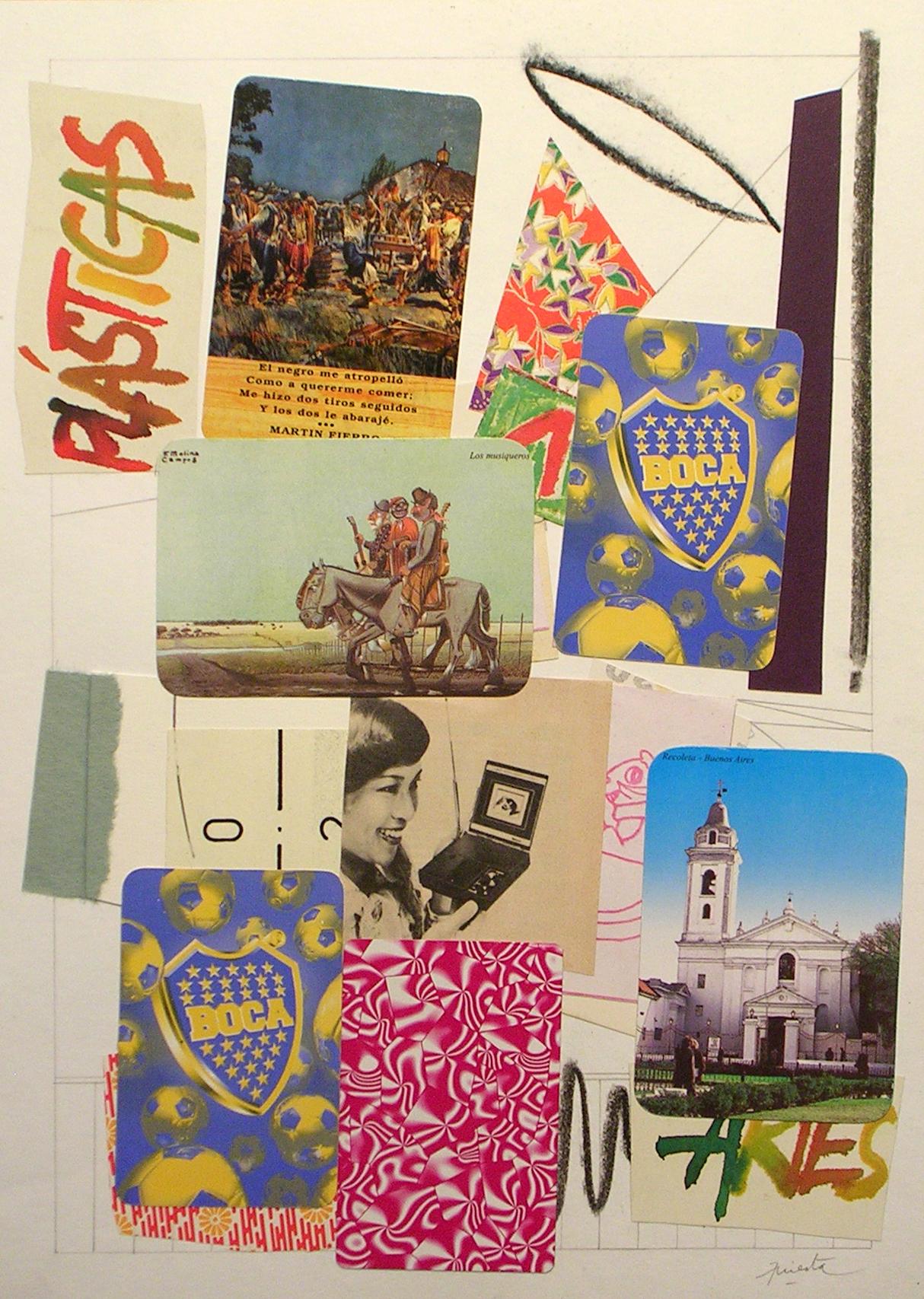Ejercicios Cotidianos, Collage 34x24cm 2006 (10)