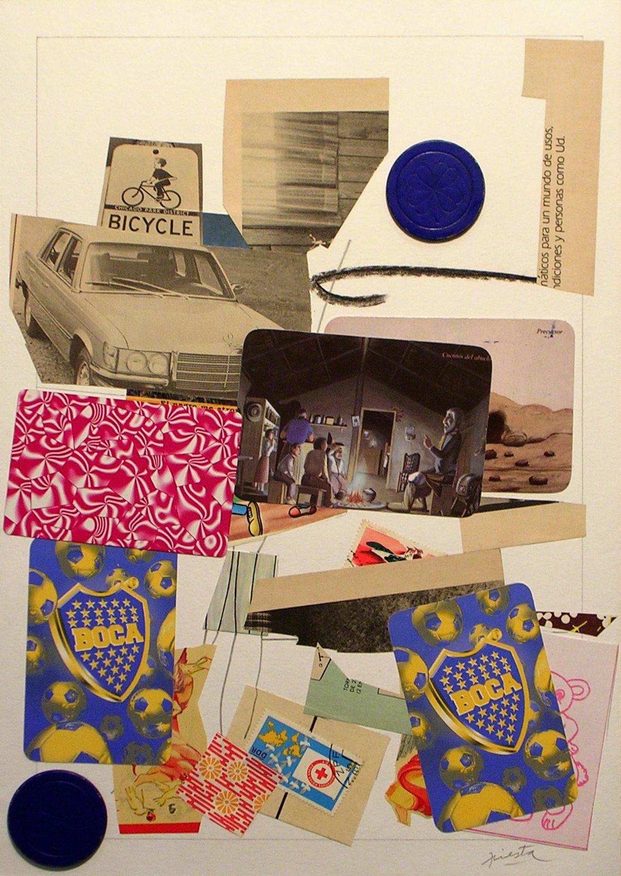 Ejercicios Cotidianos, Collage 34x24cm 2006 (11)