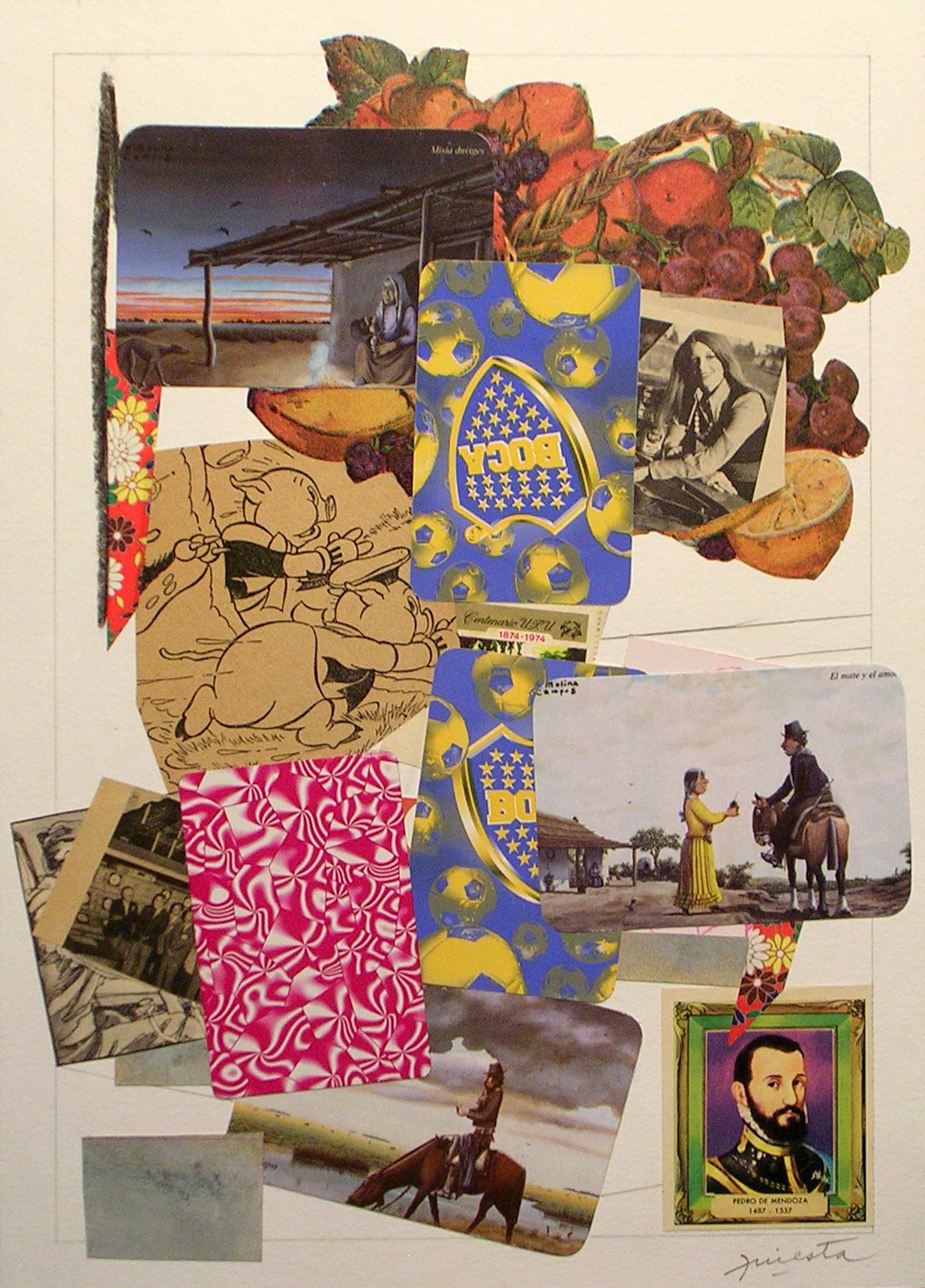 Ejercicios Cotidianos, Collage 34x24cm 2006 (14)