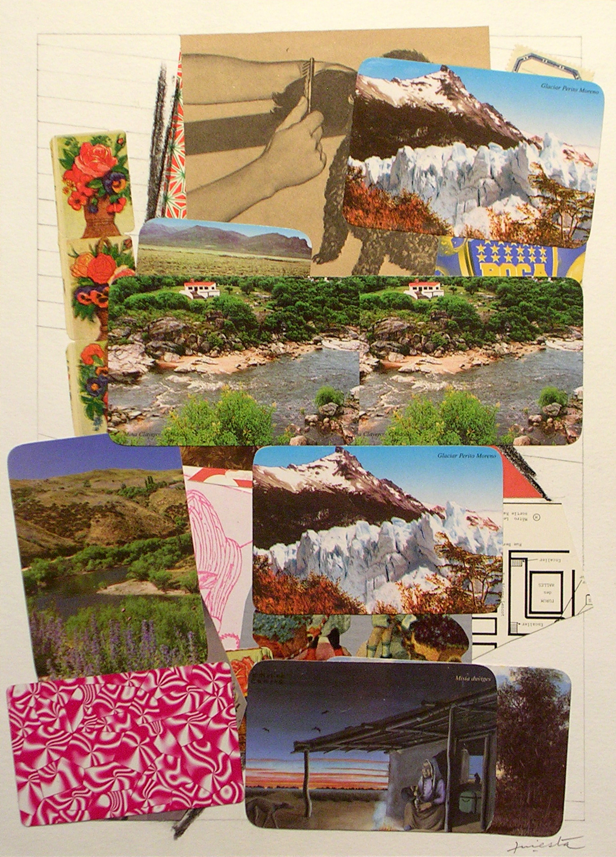 Ejercicios Cotidianos, Collage 34x24cm 2006 (20)