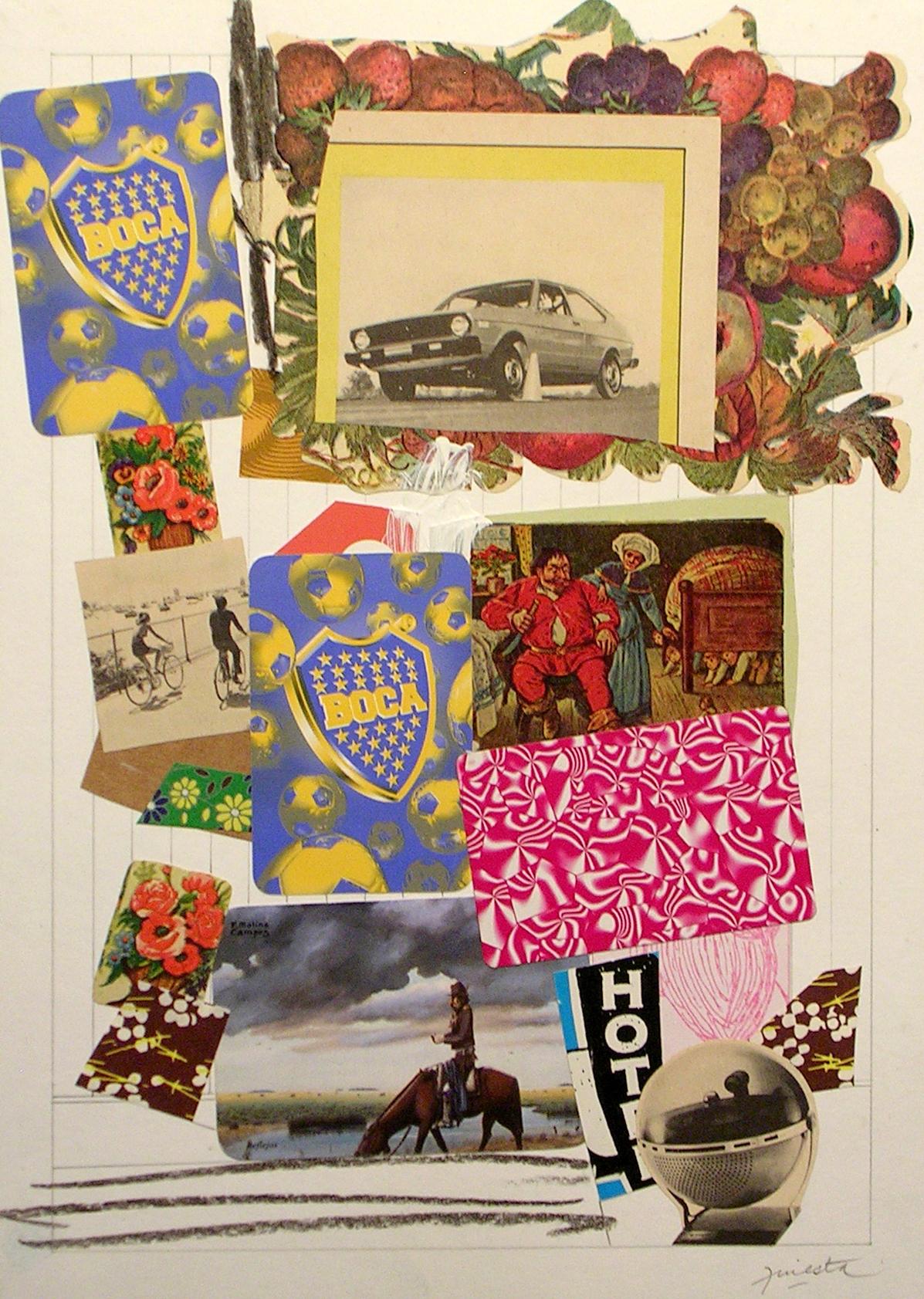 Ejercicios Cotidianos, Collage 34x24cm 2006 (25)